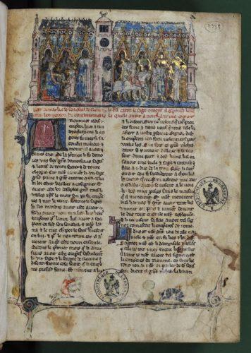 Envoyés de Fiseus quittant rome