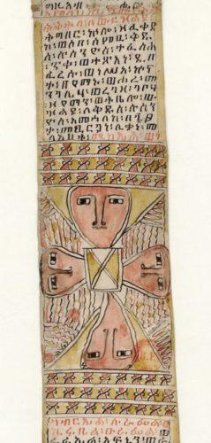 Talisman (rouleau magique éthiopien)