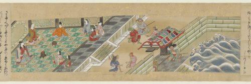 Urashima Tarô reçu au palais du dragon