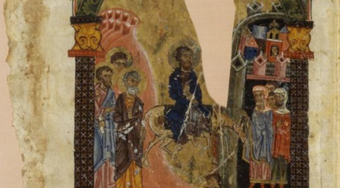 Un luxueux lectionnaire des évangiles syriaque, de l'ancienne bibliothèque de l'évêché de Séert