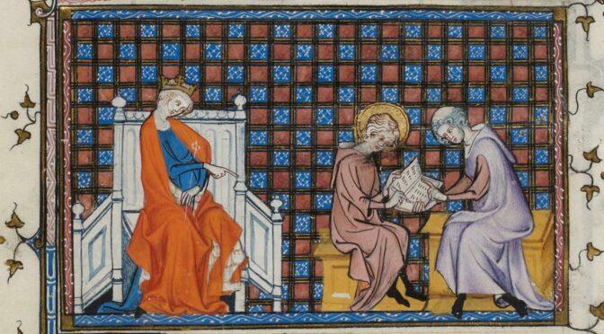 Livre de dévotion et manuel d'enseignement : le psautier à la cour de France au XIIIe siècle